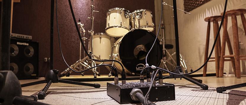 Estúdio de gravação na Mooca
