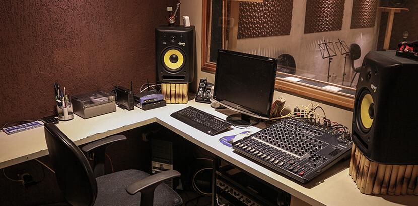 Locação estúdio por hora para ensaio