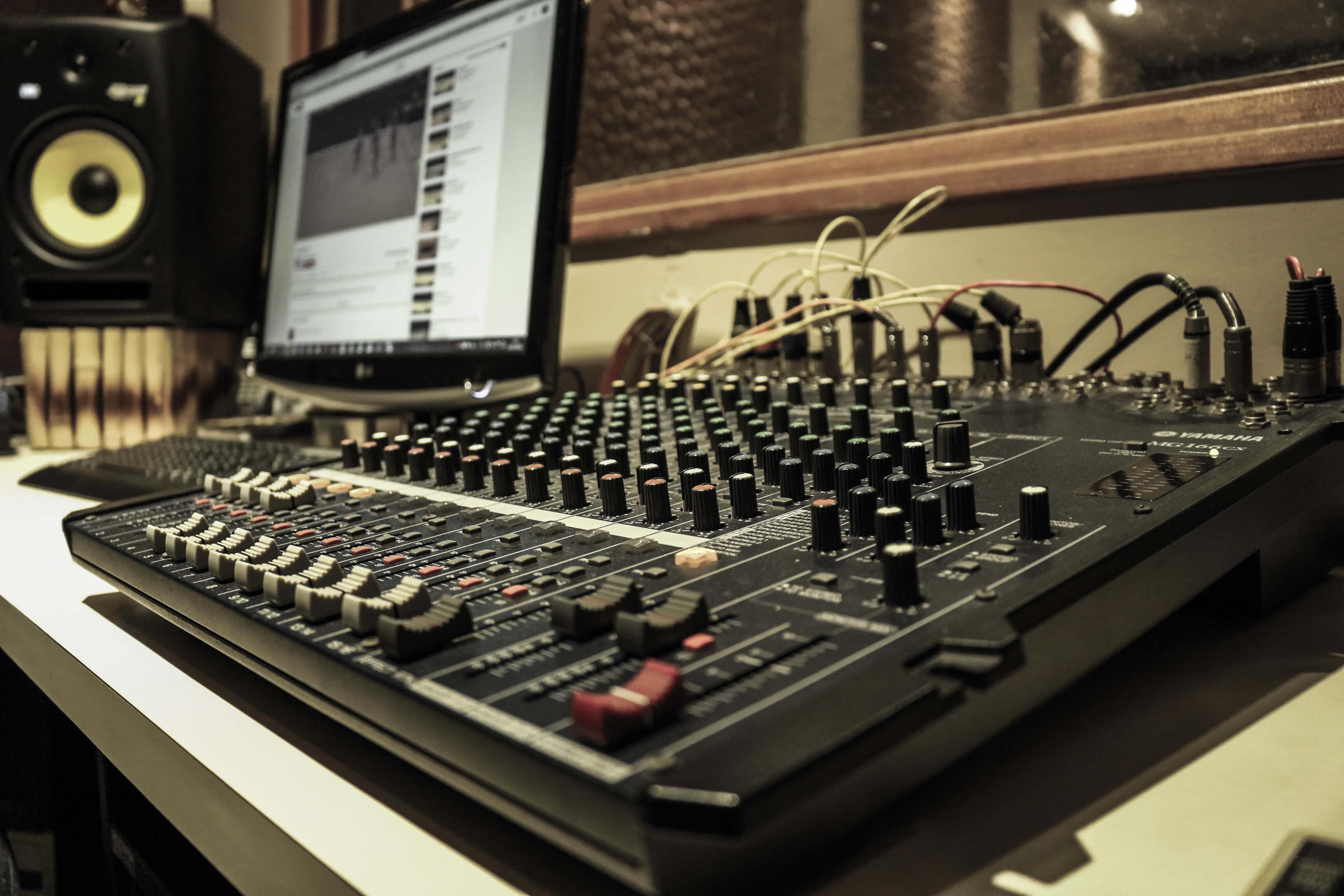 Estúdio de música na Zona Leste